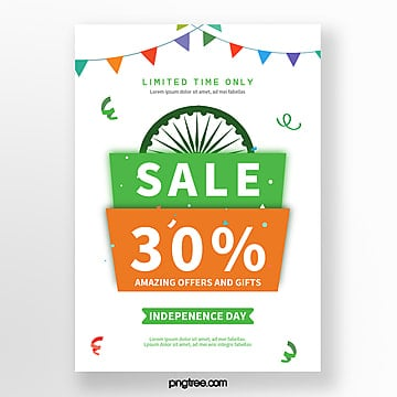 color india independence day promotion poster Template