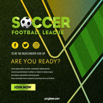 football event gradient pop up square sns Template