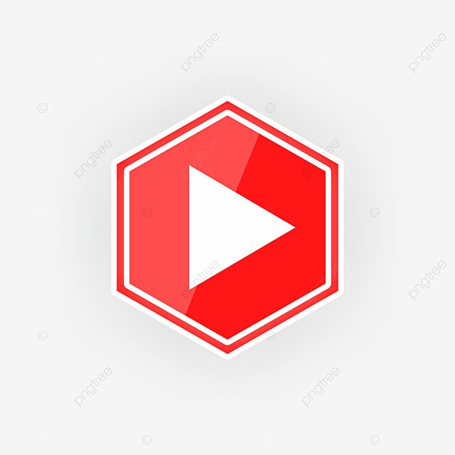 Hexagonal Youtube Logo Template For Free Download On Pngtree