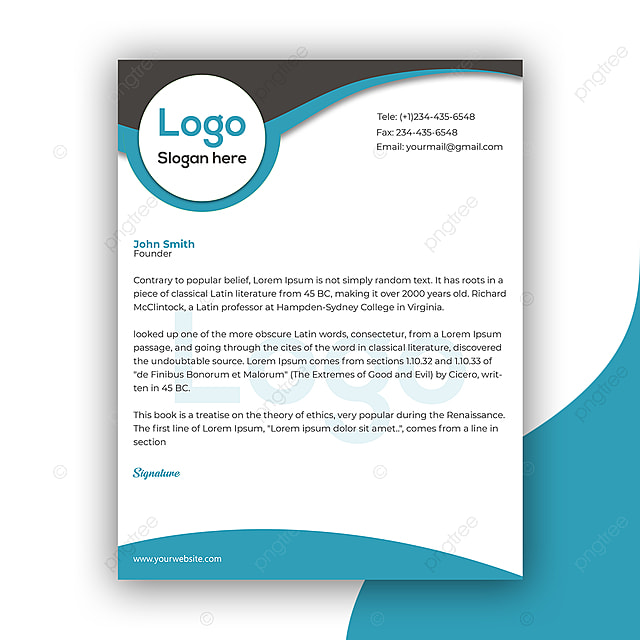 Saubere Und Firmenkundengeschäft Briefkopf Vorlage Vorlage