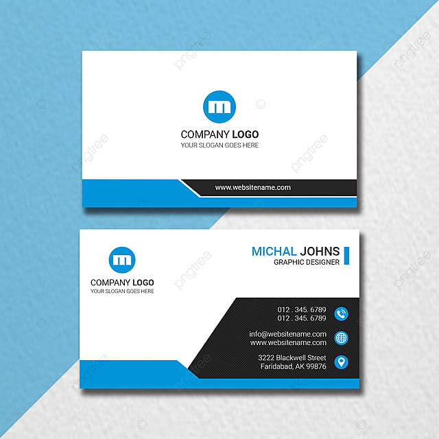 minimal business card design Template for Free Download on Pngtree