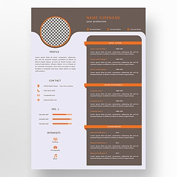 Creative Cv Templates from png.pngtree.com