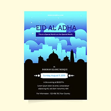 eid al adha flyer design templates Template