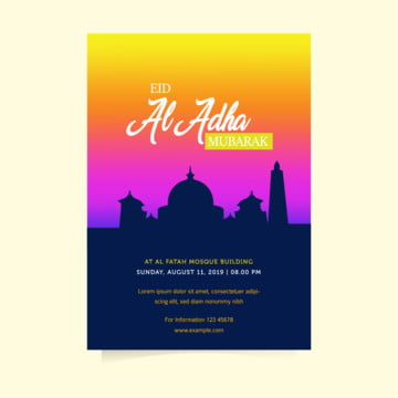eid al adha flyer templates Template