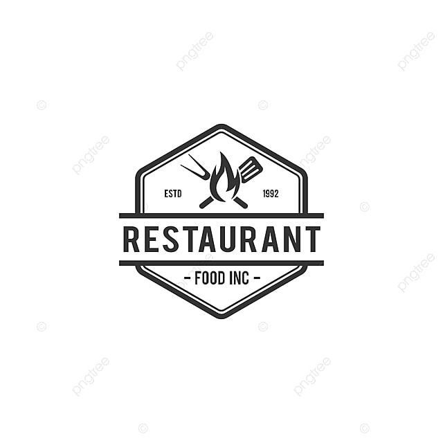Barbecue Restaurant Vintage Logo Concept Logo Of Barbecue