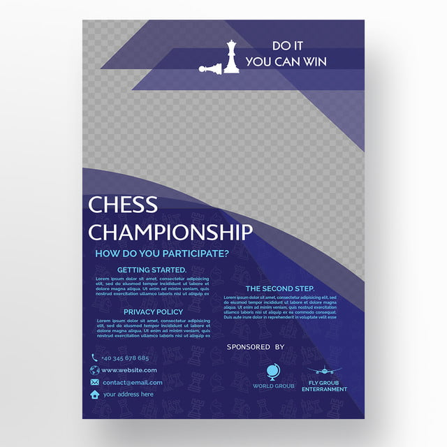 blue competition flyer template Template for Free Download on Pngtree