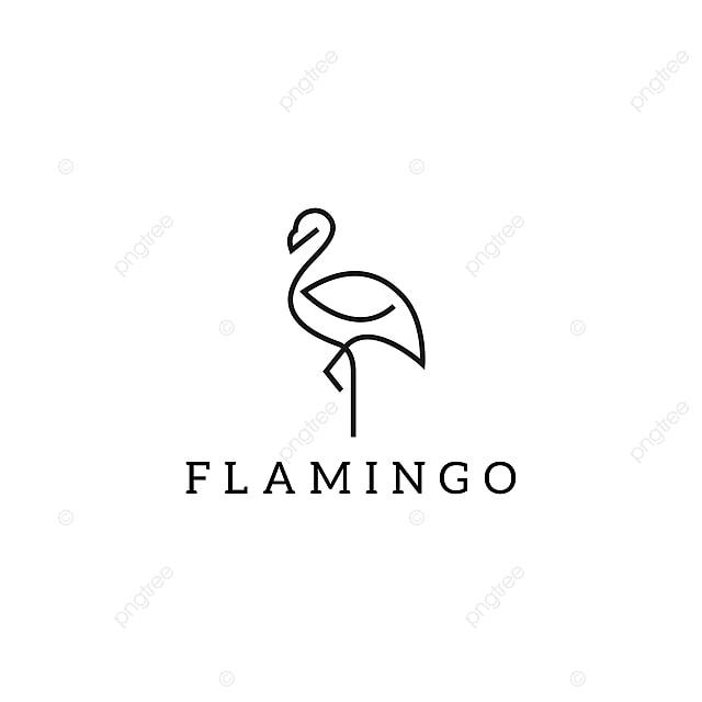 Flamingo Logo Design Template Vector Template For Free