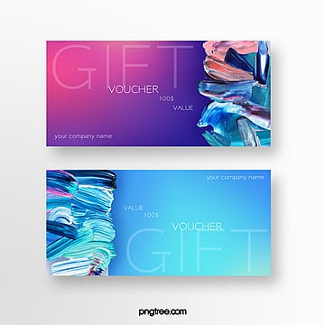 fashion brush vouchers Template