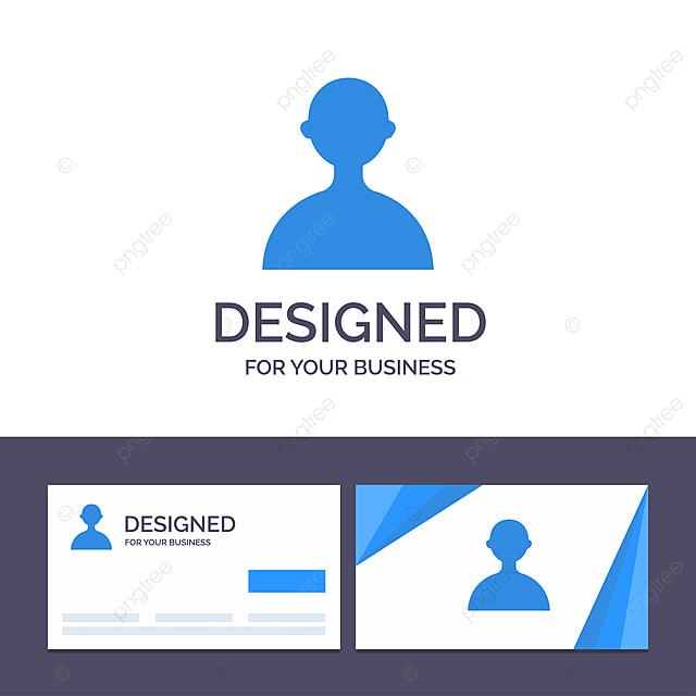 Kreative Visitenkarte Und Logo Vorlage Avatar Benutzer