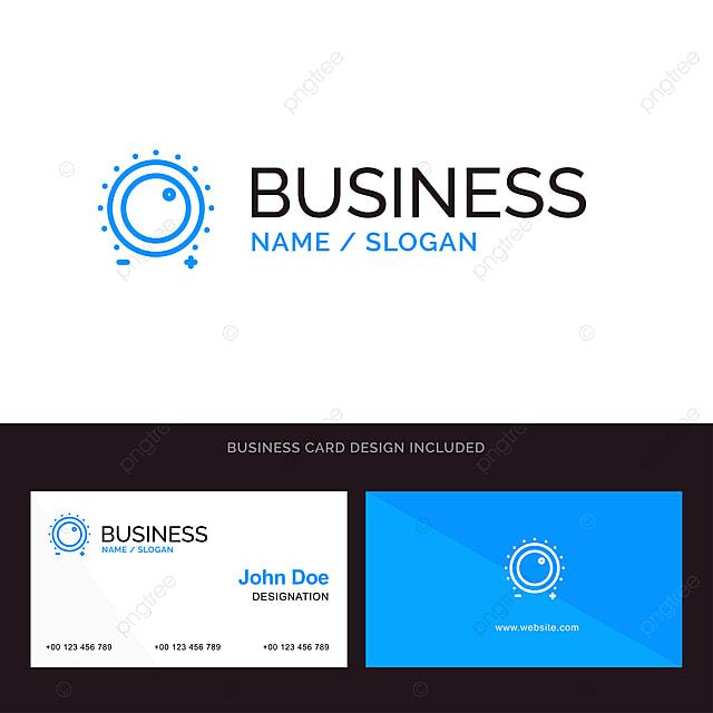 audio control gain level sound blue business logo and busine