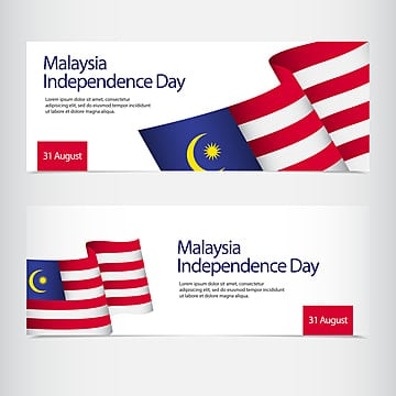 malaysia independence day celebration vector template design illustration Template