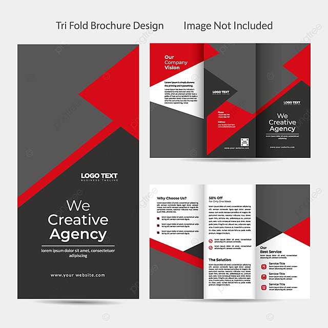 Tri Fold Brochure Design Template For Free Download On Pngtree