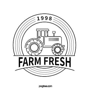 black tractor line icon Template