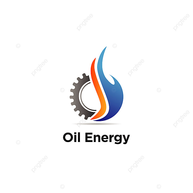 Computer Logo Design Template: Oil Machine Engineering Logo Sign Symbol Icon Template For