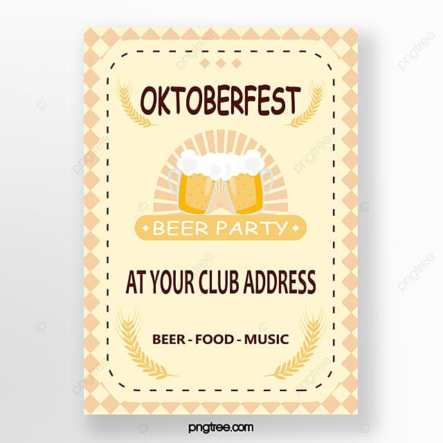 oktoberfest fresh poster