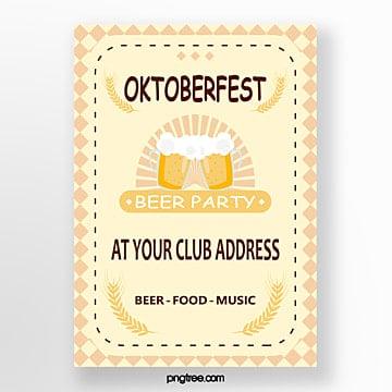 oktoberfest frisches plakat Vorlage