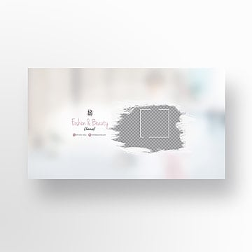 Couverture Youtube Png Images Vecteurs Et Fichiers Psd