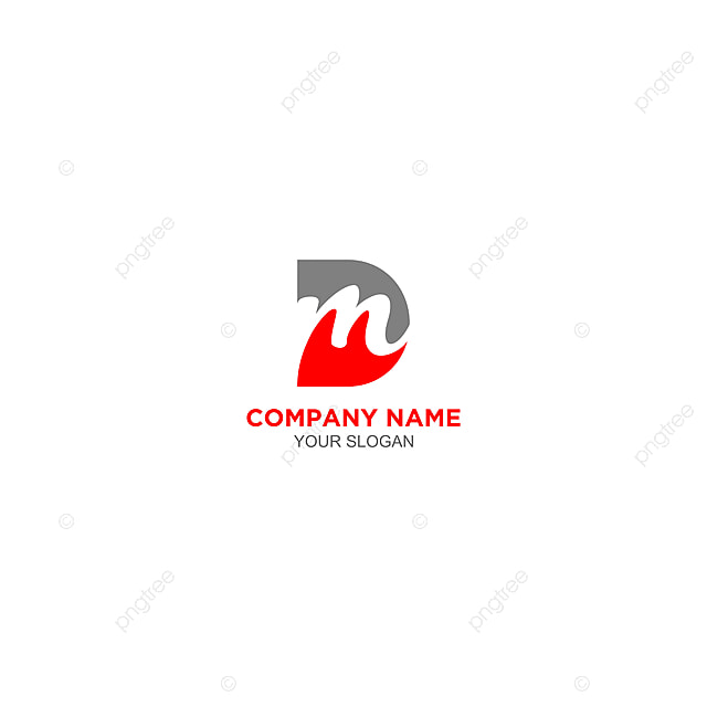 Dm Logo Design Free Download