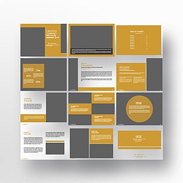 Company Profile Design Png, Vector, PSD, and Clipart With ...