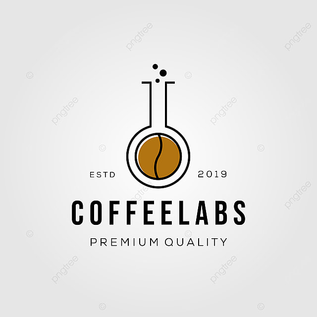 Coffee Lab Hipster Retro Vintage Logo Badges Vector Template