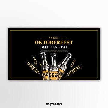 minimal oktoberfest banner Vorlage
