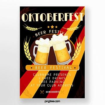 oktoberfest feier plakat Vorlage