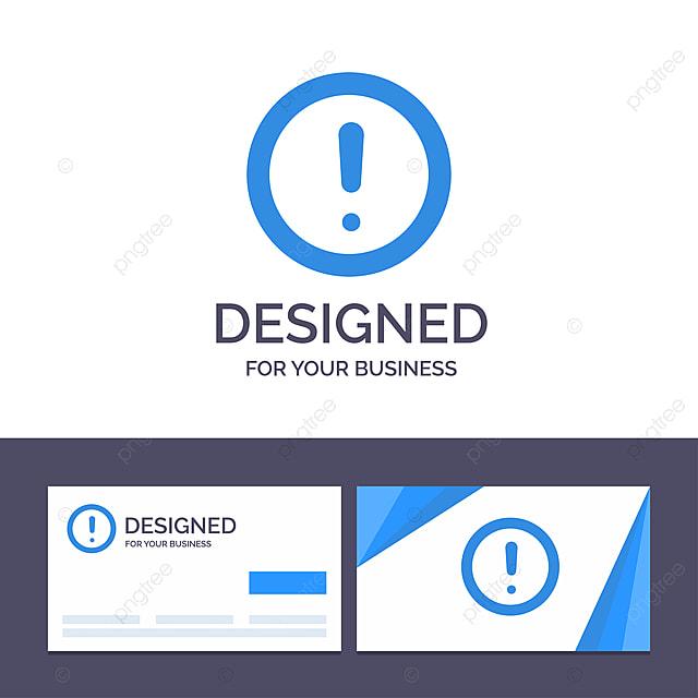 Kreative Visitenkarten Und Logo Vorlage Für Info Notizen