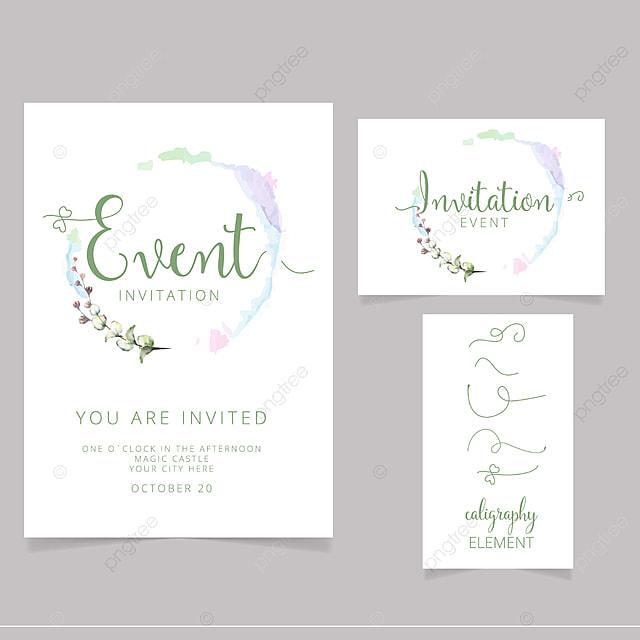Diseño De Tarjeta De Invitación Editable Descarga Gratuita