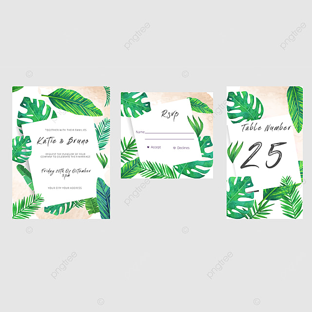 Free Table Place Card Template from png.pngtree.com