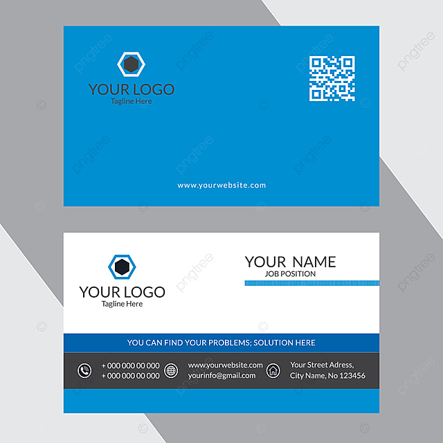 Modern And Stylish Business Card Design Template for Free