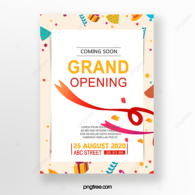 Grand Opening Invitation Invitation Template For Free