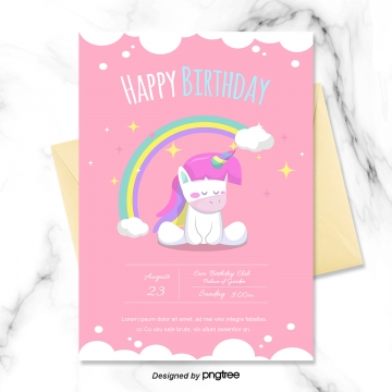 Birthday Invitation Png Images Vector And Psd Files Free