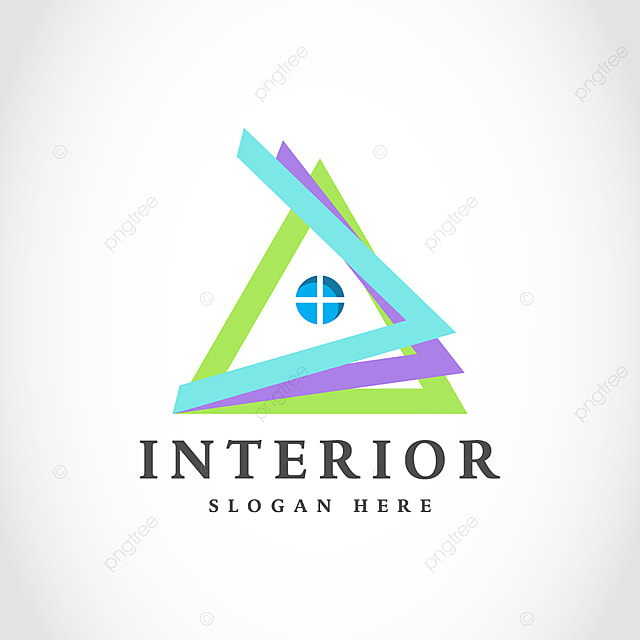 Creative Modern Home Interior Logo Design Template For Free Download On Pngtree