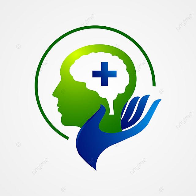 Intelligence Tech Colorful Mind Head Health Logo Designs