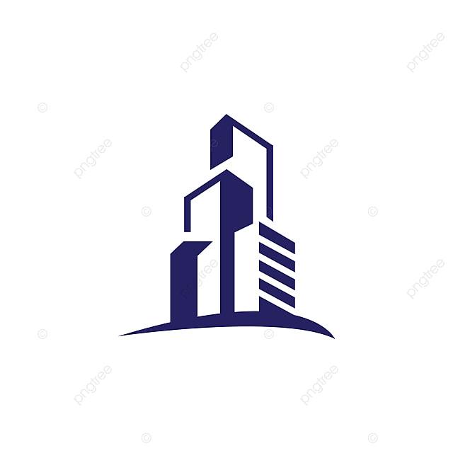 Building Design Software Freeware: Realty Flat Apartment Modern Building Logo Design Graphic