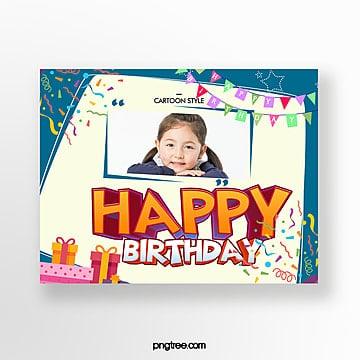 Tarjeta De Invitación De Fiesta De Cumpleaños De Niños De