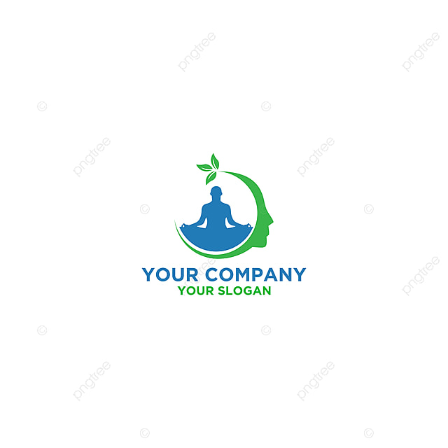 Think Yoga Logo Design Vector Template For Free Download On Pngtree