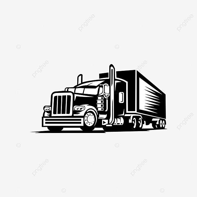Tow Truck Trailer Logo Transportation Inspiration Vector