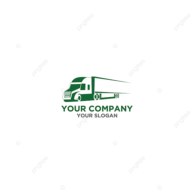 Trucking Logistic Logo Design Vector Template For Free
