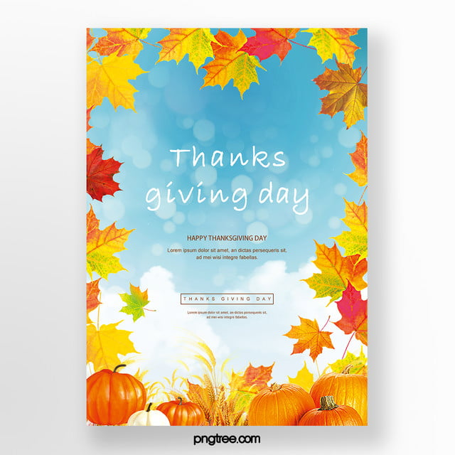 Happy Thanksgiving Sale Cards Template For Free Download On Pngtree