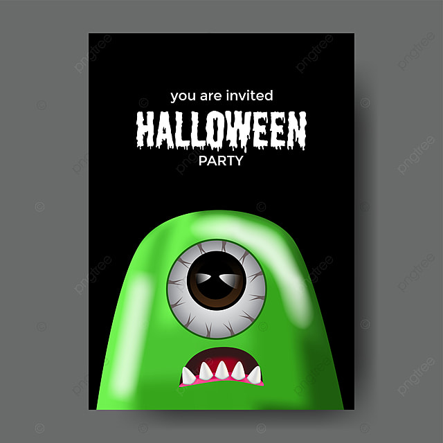 Halloween Party Trick Or Treat Event Celebration Banner Poster W Template For Free Download On Pngtree