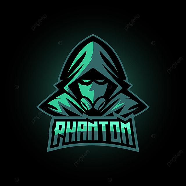 Phantom E Sports Logo Gaming Mascot Template For Free