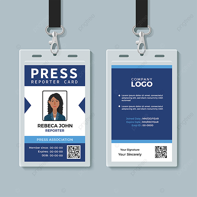 Id Template Free Download from png.pngtree.com