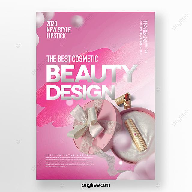 Busana Romantis Kosmetik Yang Indah Mengatur Kotak Poster Templat Untuk Unduh Gratis Di Pngtree