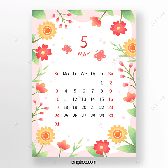 gorgeous flower flower bunch bud butterfly leaf red green orange may calendar
