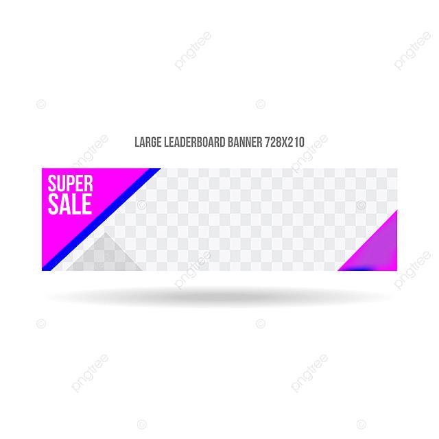 Large Leaderboard Banner Template