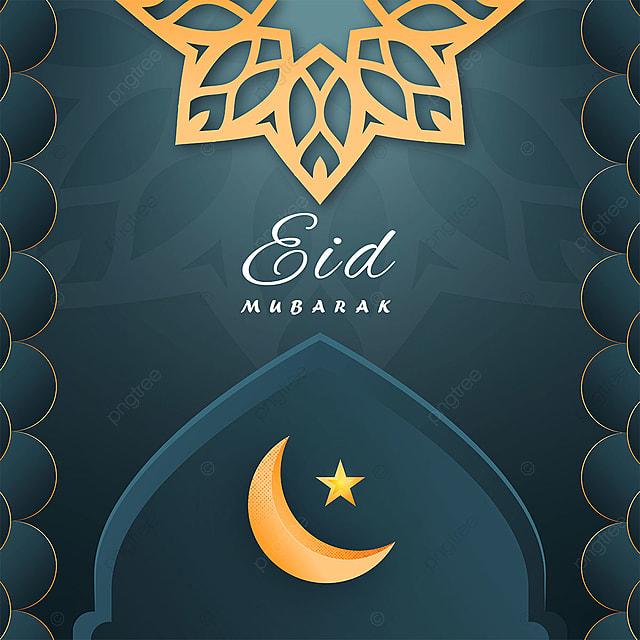 eid mubarak greetings card template design template for