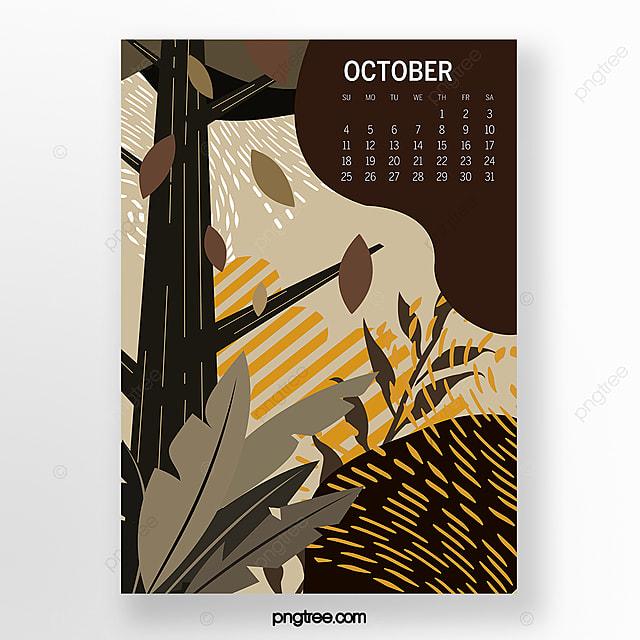 october 2020 illustration