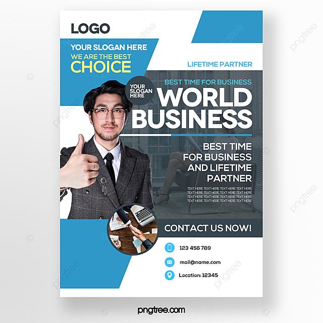 stylish minimalist business style brochure cover
