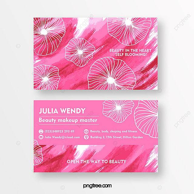 line print texture business card